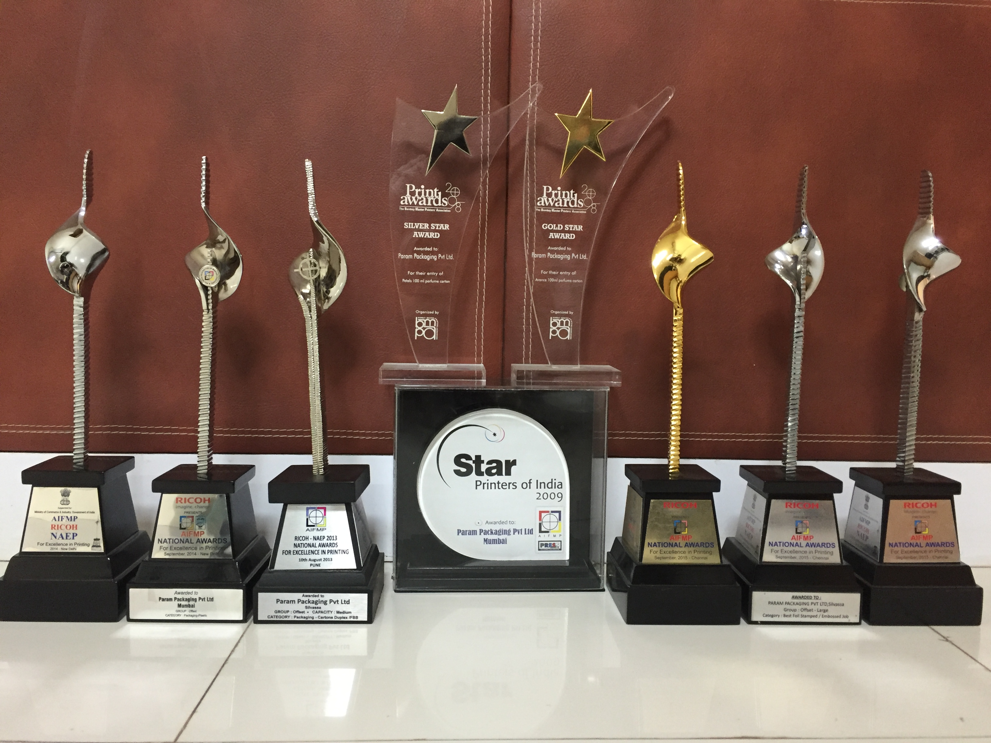 Awards internal